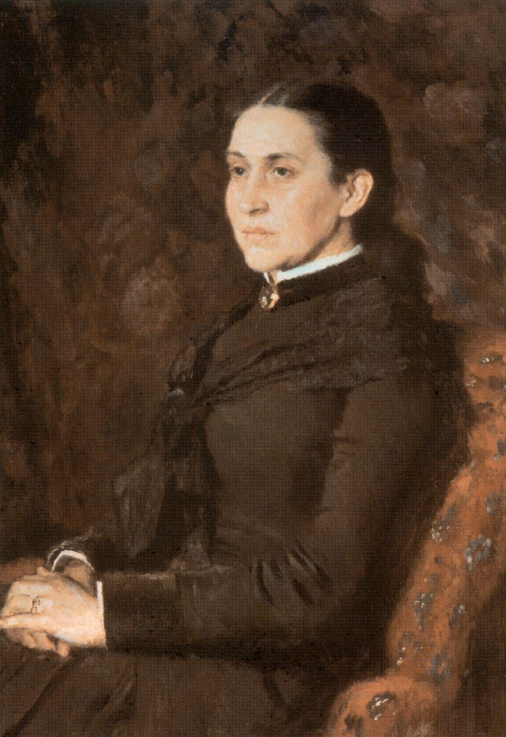 Victor Mikhailovich Vasnetsov. Portrait Of Elizabeth Grigorievna Mamontova