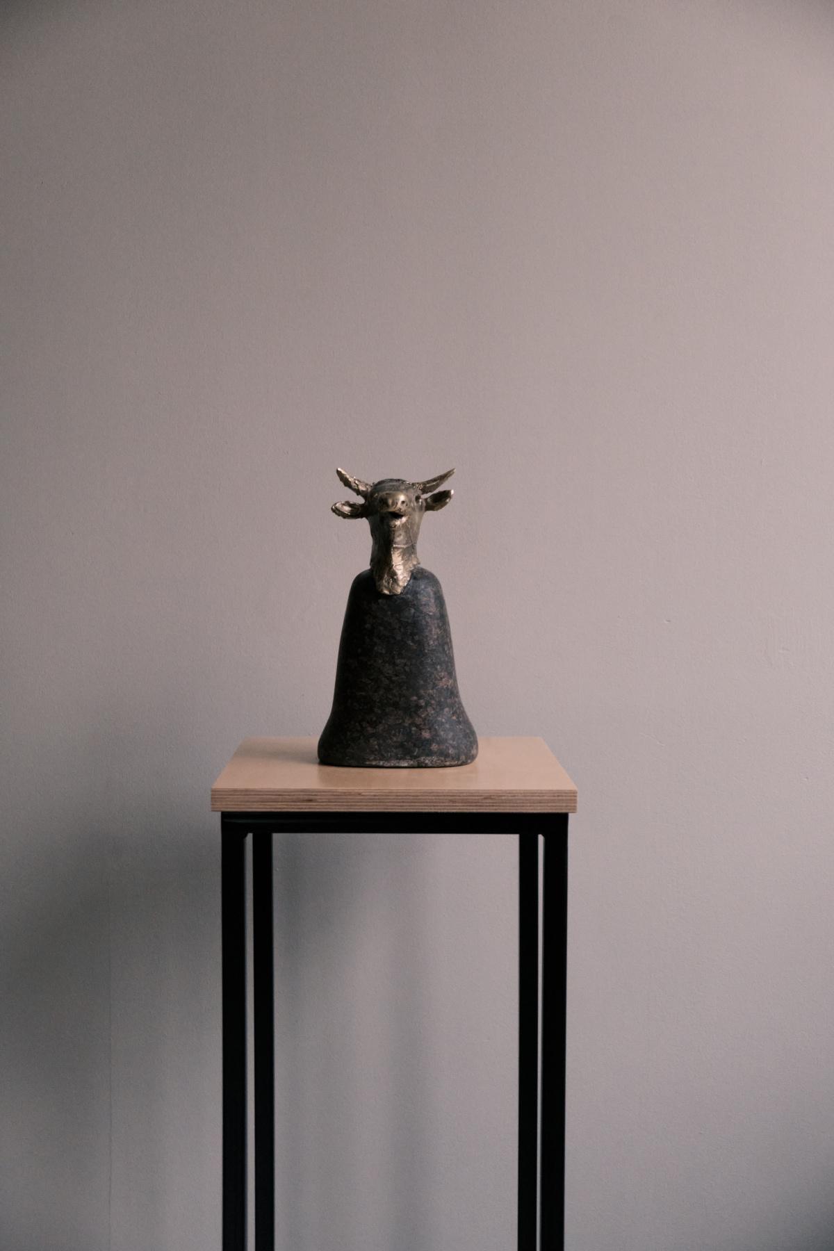 Marina Lvovna Spivak. Bull head