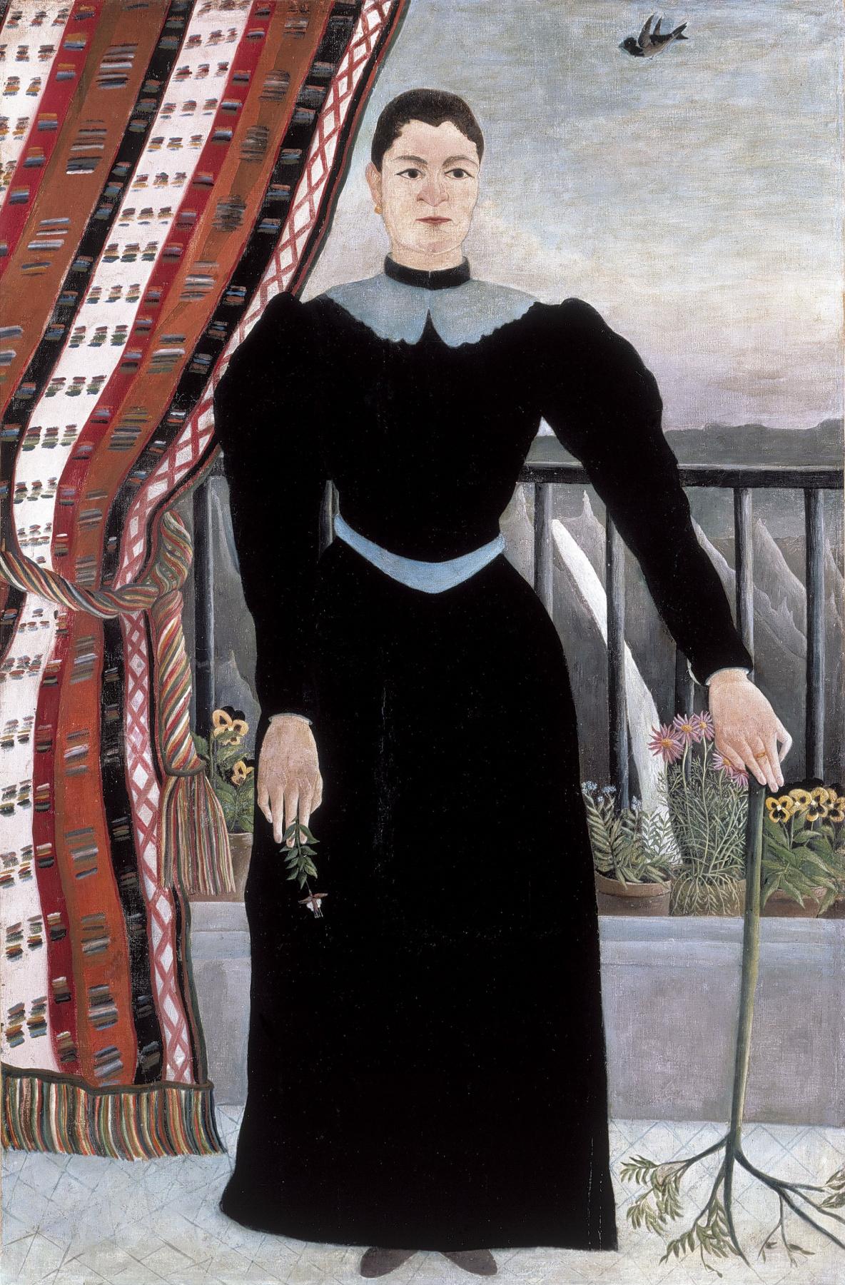 Henri Rousseau. Portrait of a woman