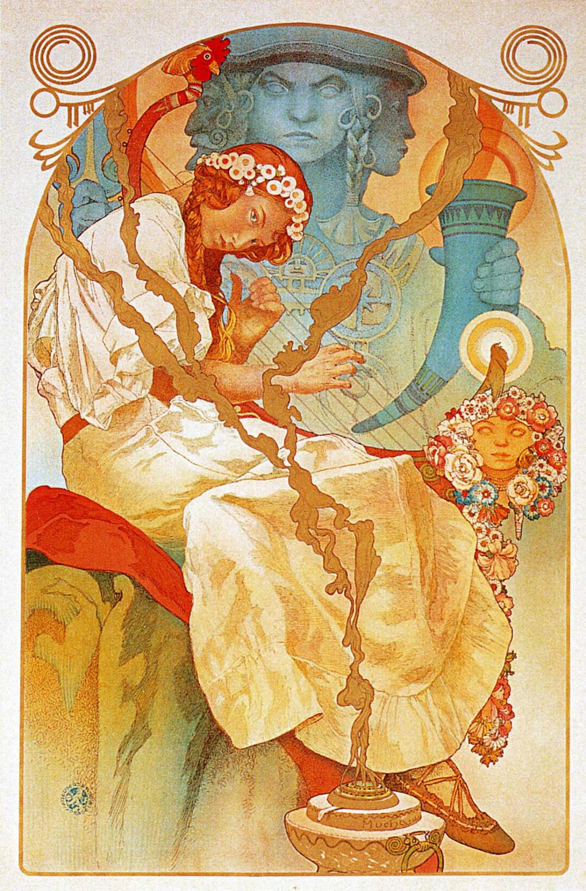 Alfons Mucha. The Slav epic