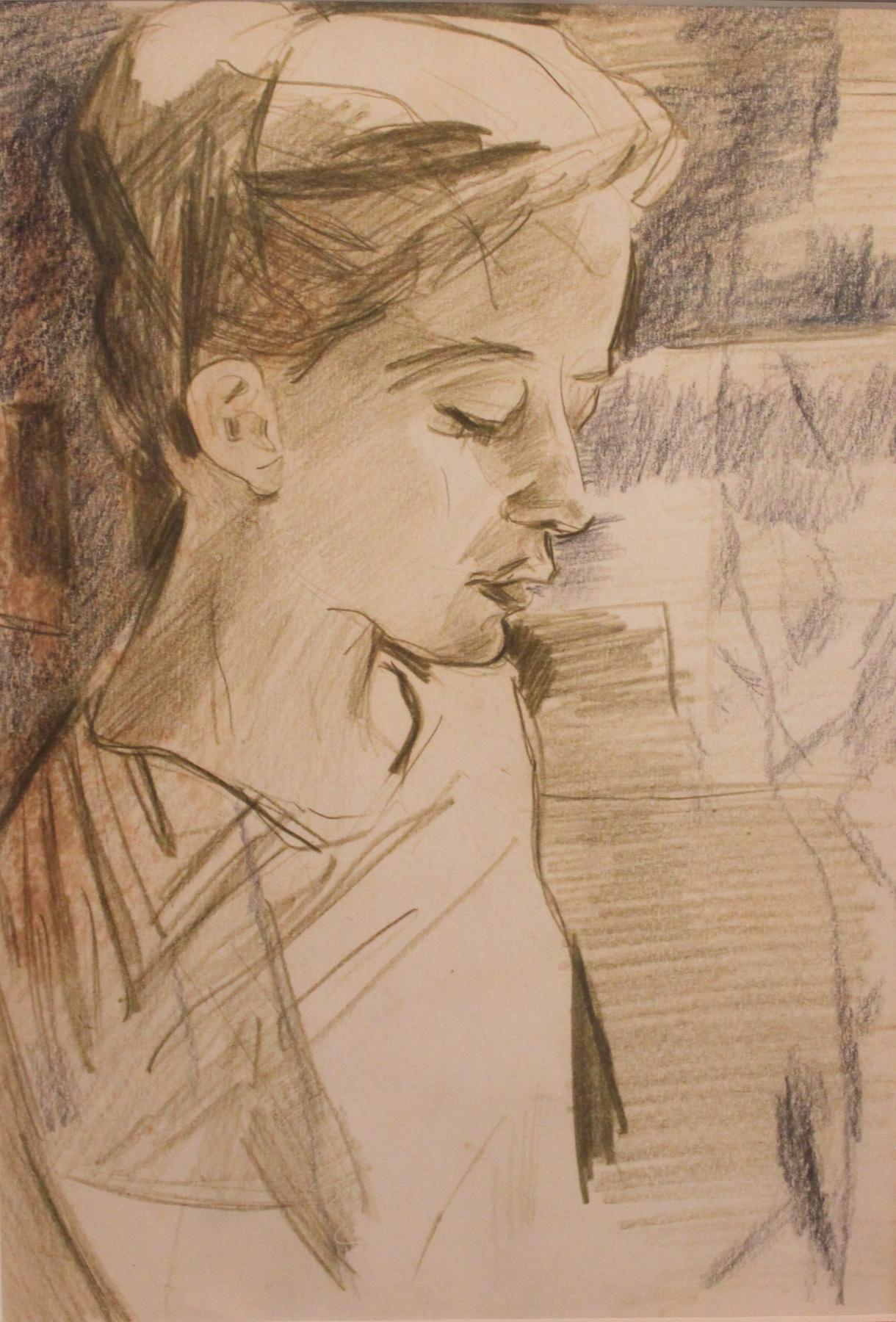 Victor Fedorovich Chudin. Girl