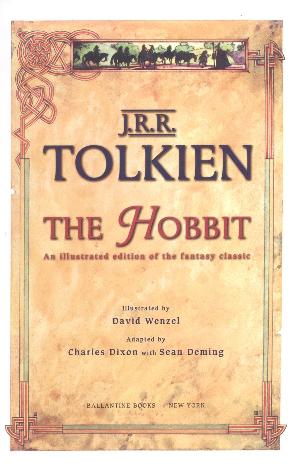 David Monogram. The hobbit 000