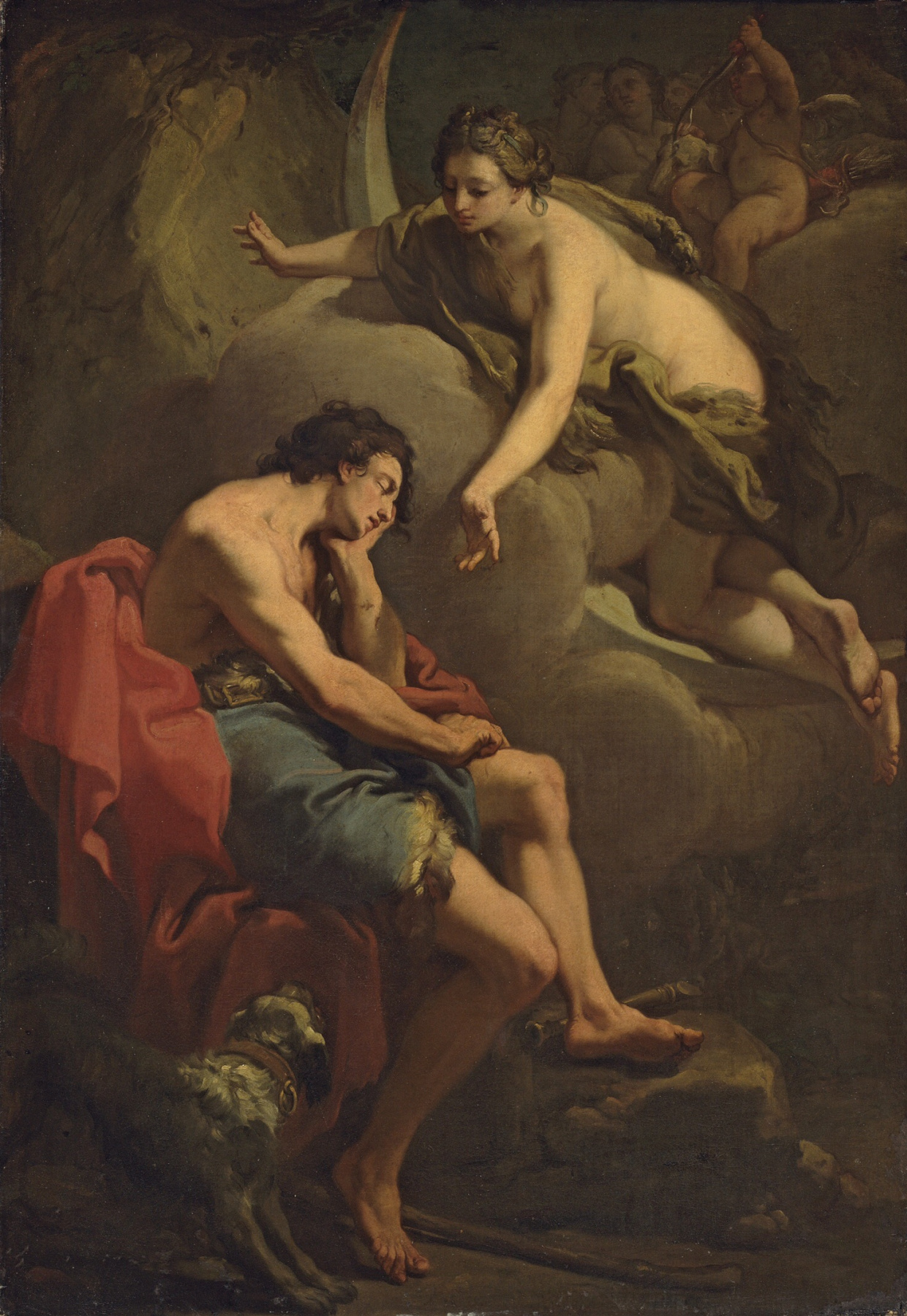 Gaetano Gandolfi. Diana and Endymion