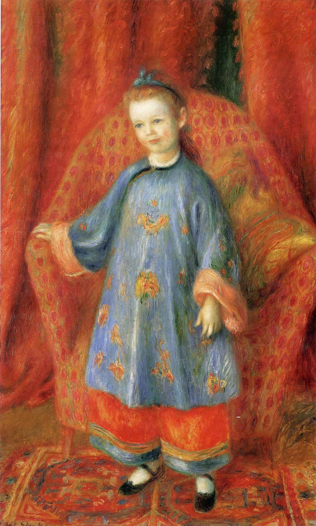 William James Glacens. Little girl