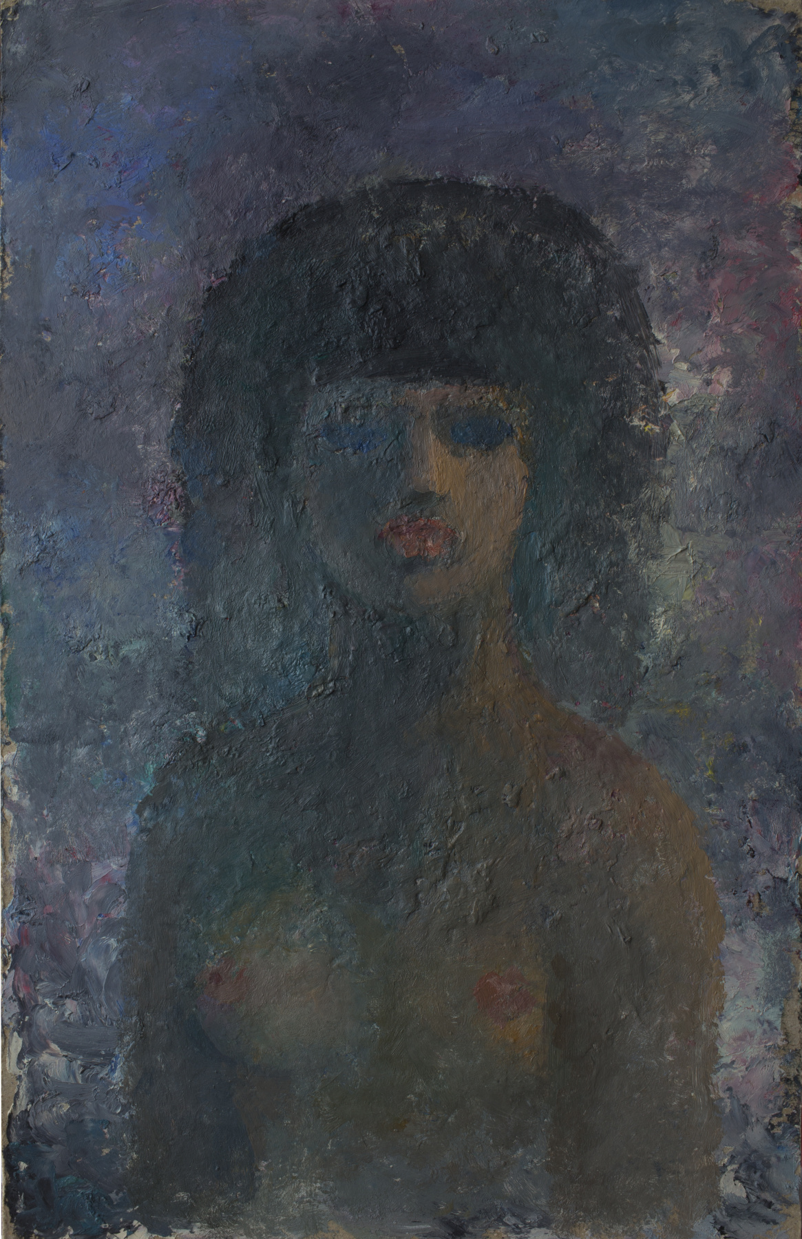 Anatoly Vasilievich Smagin. Portrait of a stranger