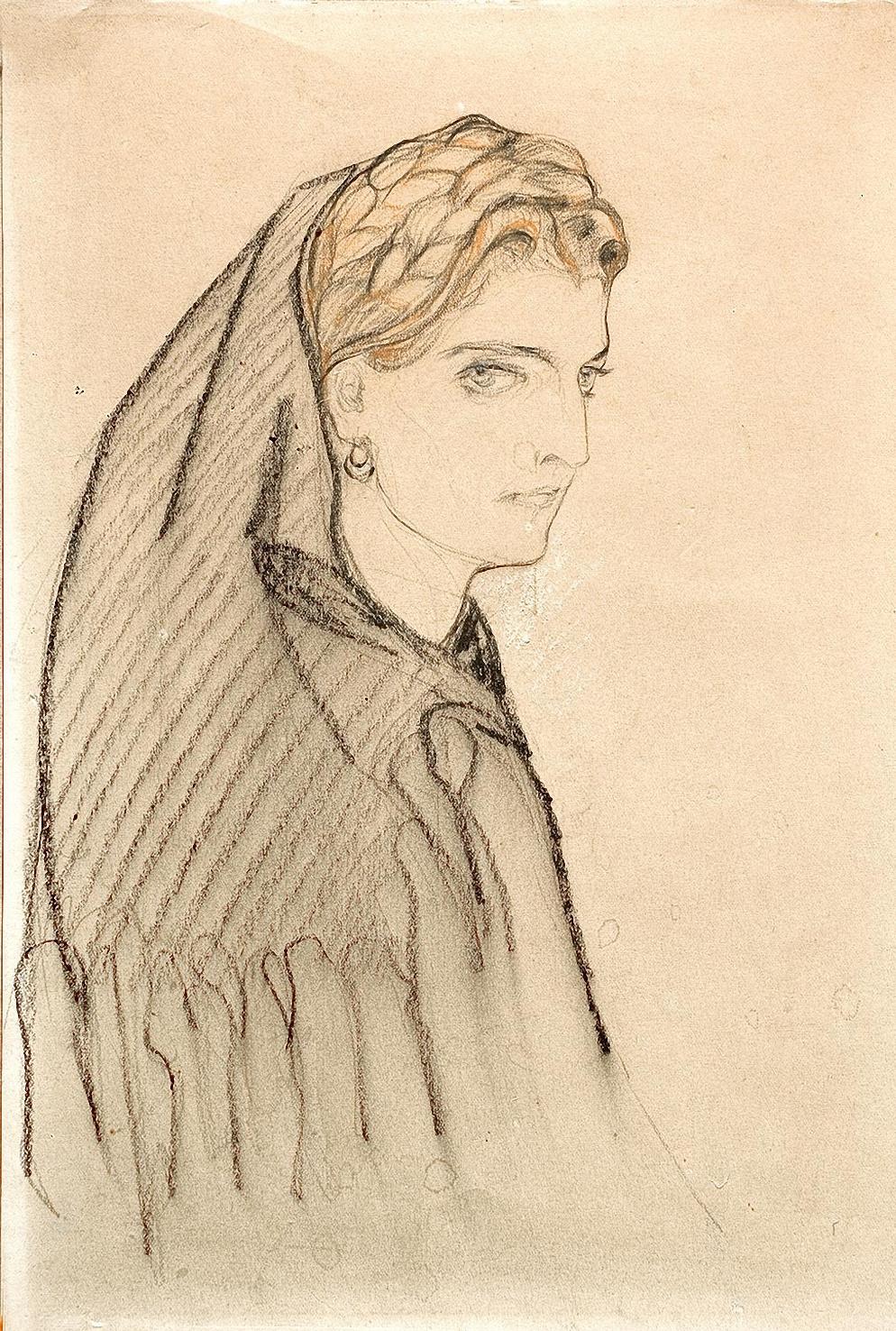 Elena Kiseleva. Chernogorka. 1920s