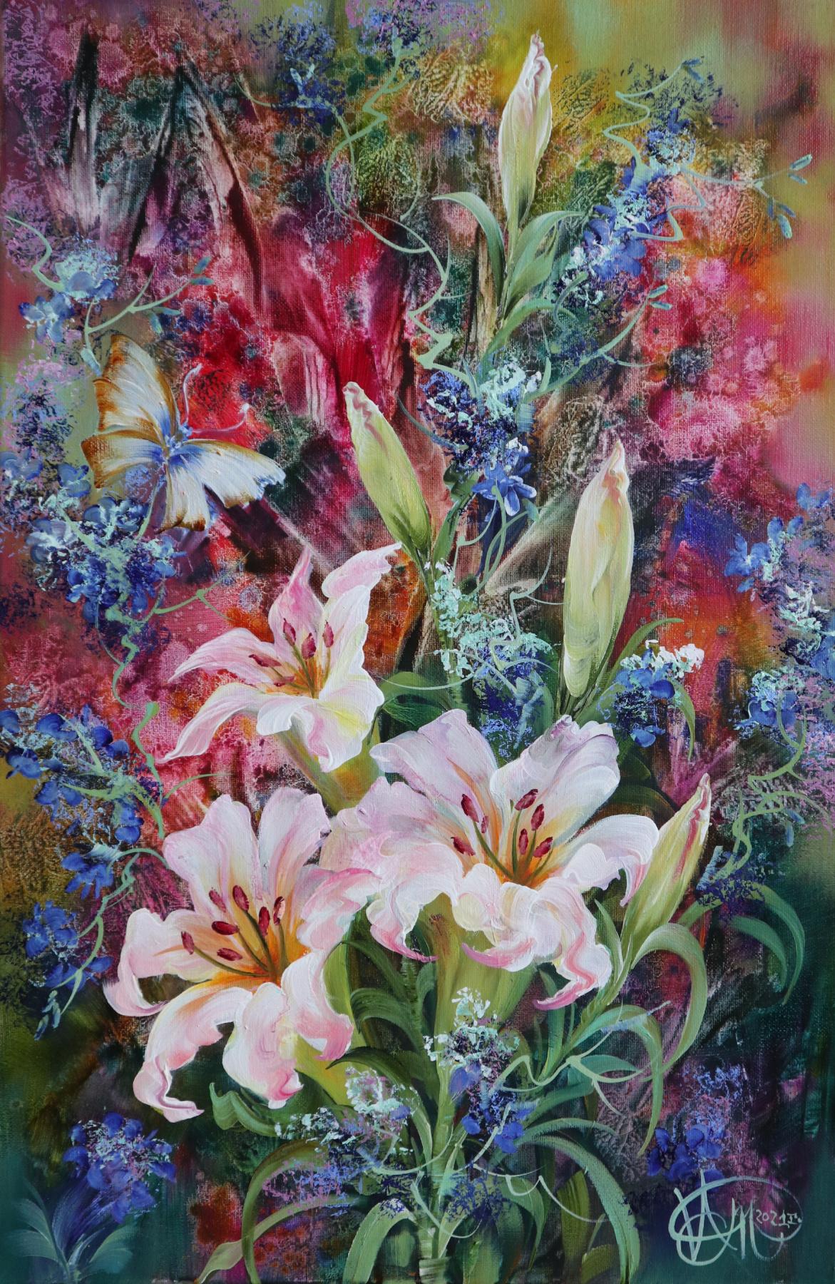 Alexander Timakov. Lilies.
