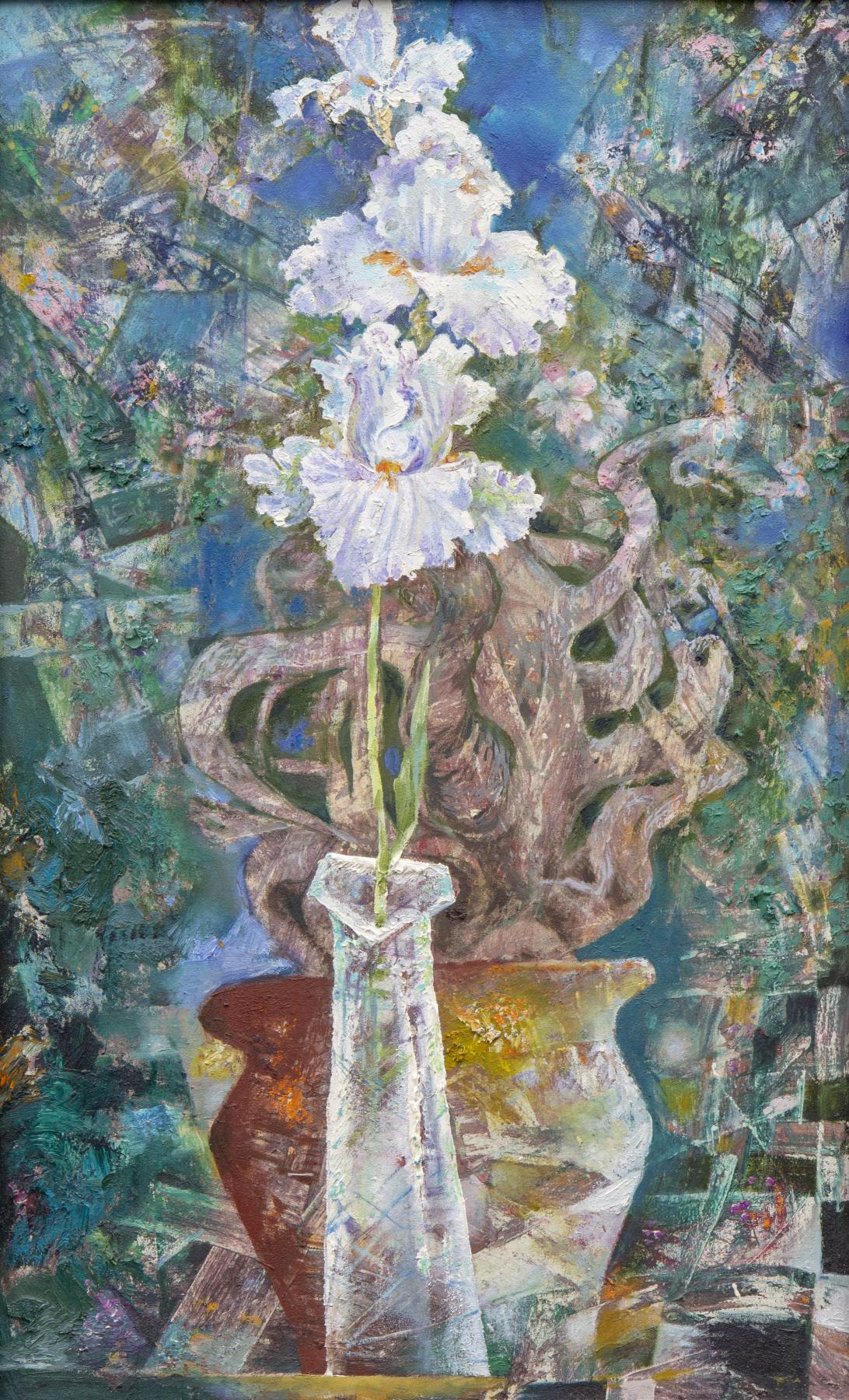 Rinat Salimzyanovich Khanafeev. Iris