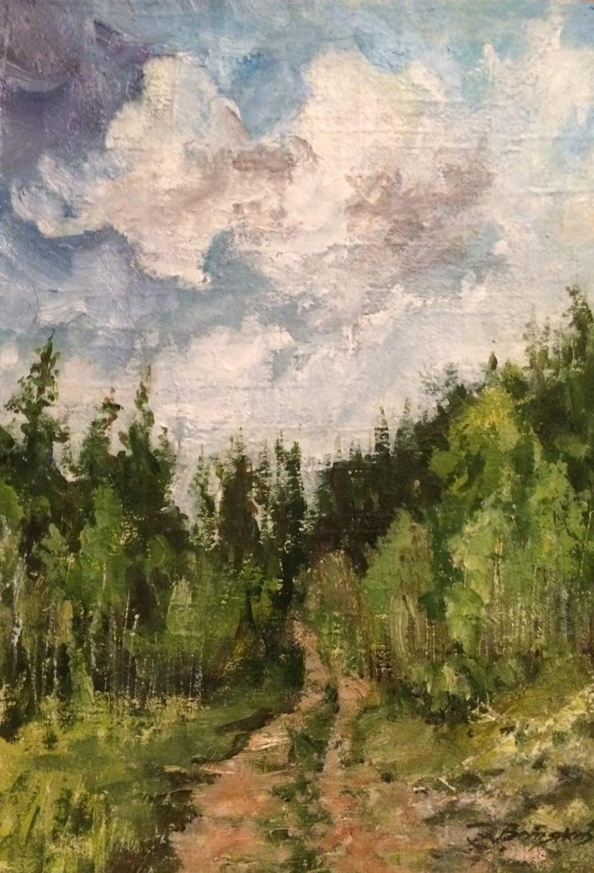 Edward Rudolfovich Votyakov. Лесная дорога.