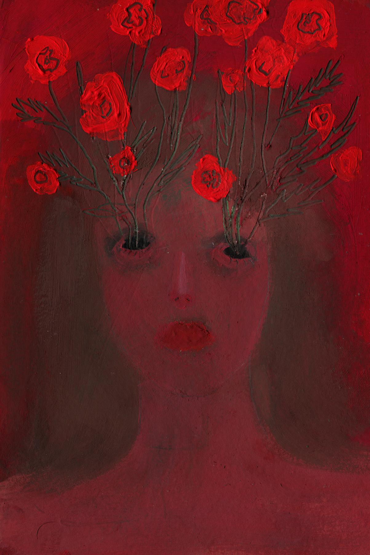 Anastasia Sergeevna Rydlevskaya. I cried out my eyes, now bloody poppies grow from them