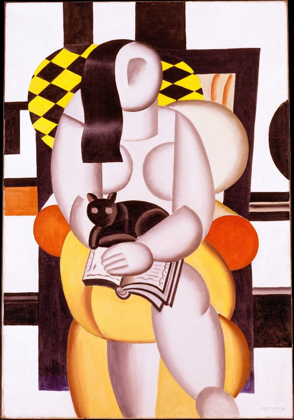 Fernand Leger. Cat woman