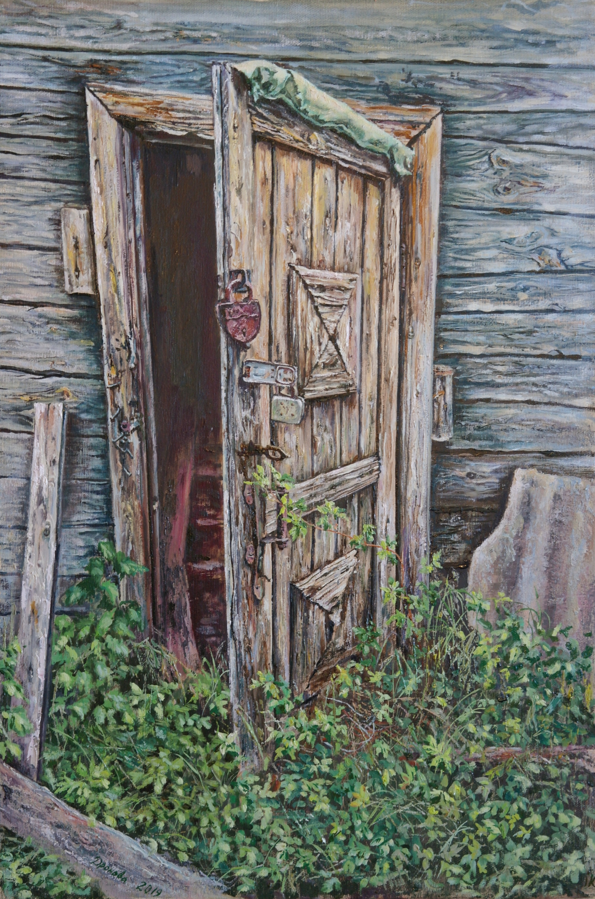 Irina Viktorovna Korotoyakskaya (Dronova). Door to the past