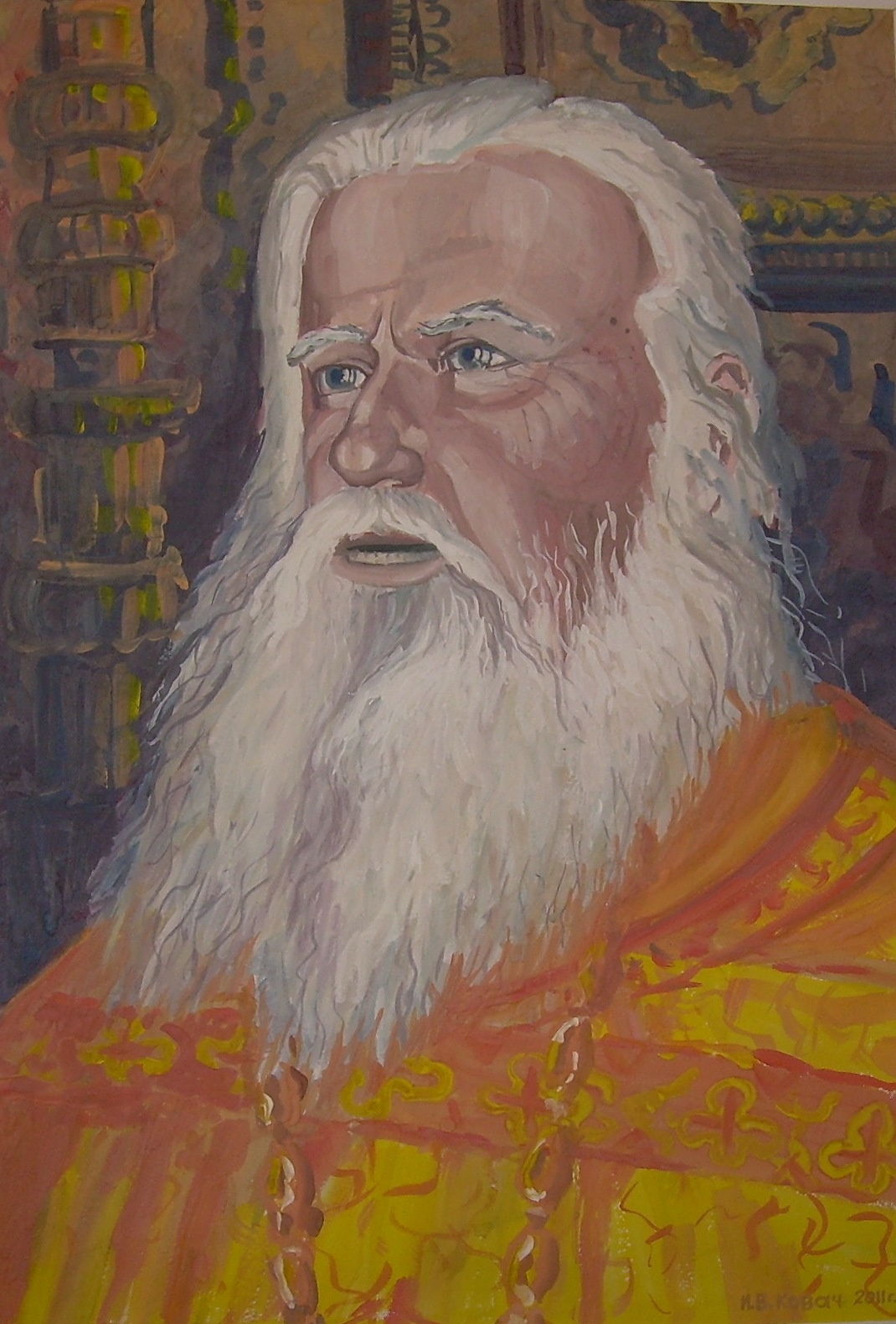 Ivan Vasilyevich Kovacs. Father John