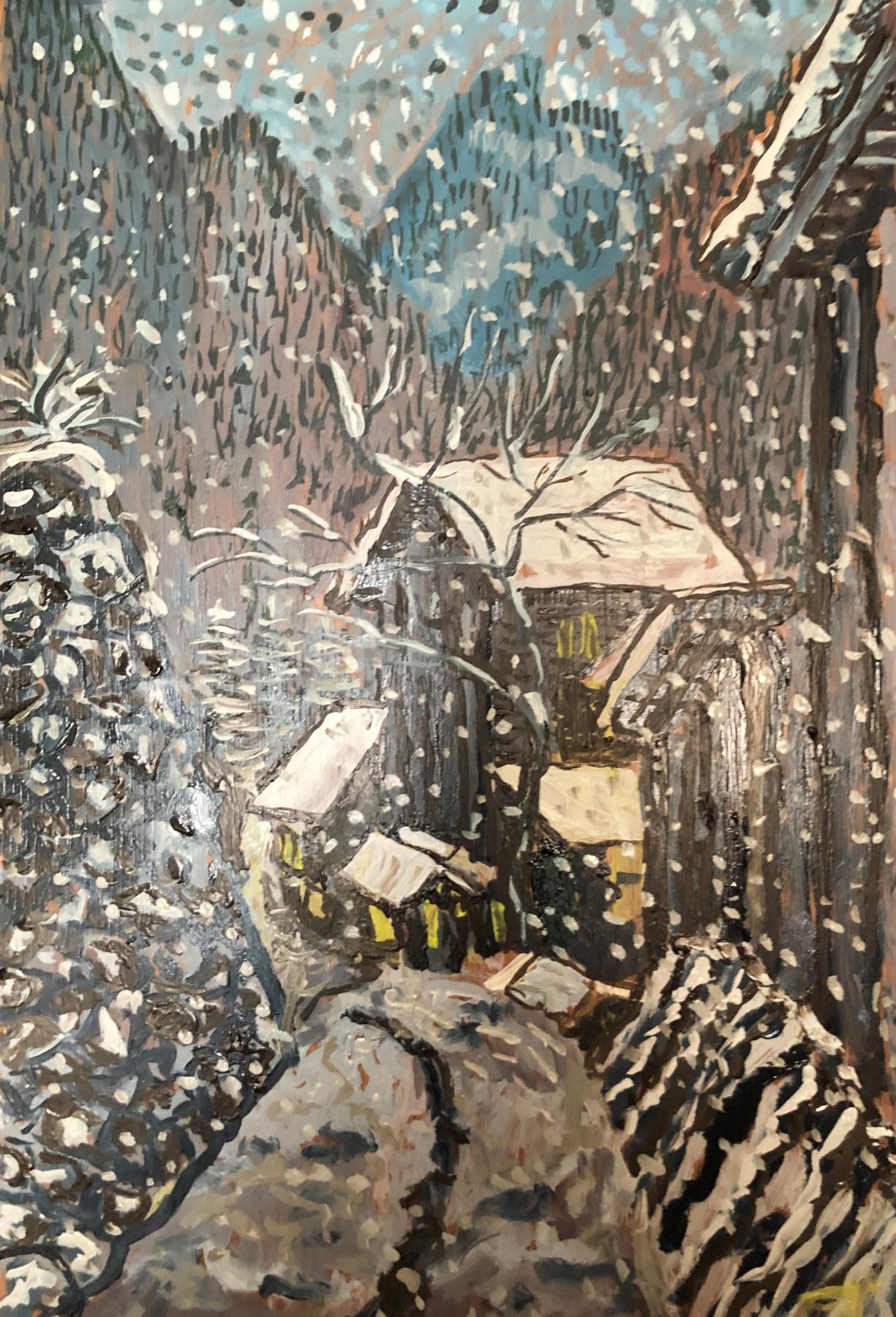 Sergey Vladimirovich Sebini. Первый снег