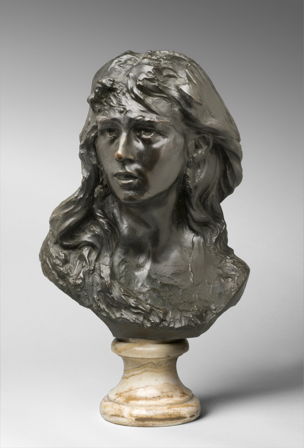 Auguste Rodin. Minion. Portrait Of Rose Bures