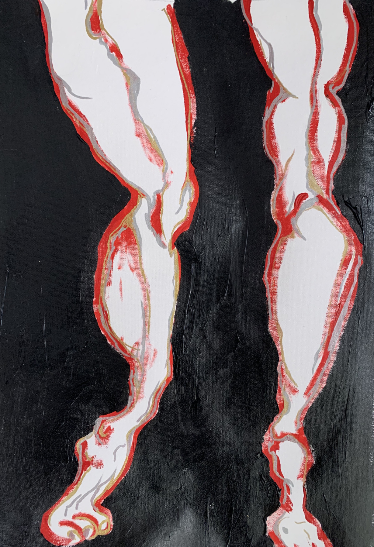 Alena Alekseevna Zasulskaya. Feet / d