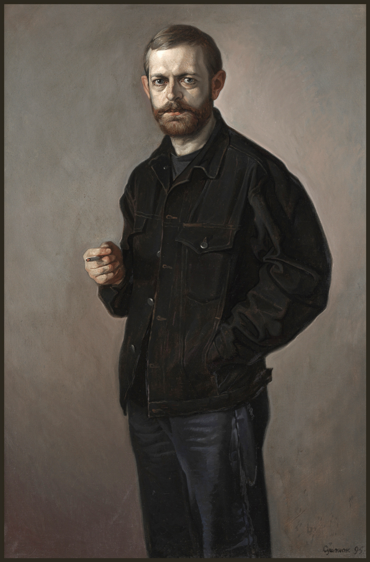 Sushienok64@mail.ru Михайлович Сушенок Игорь. Portrait of the poet Nikolai Melnikov