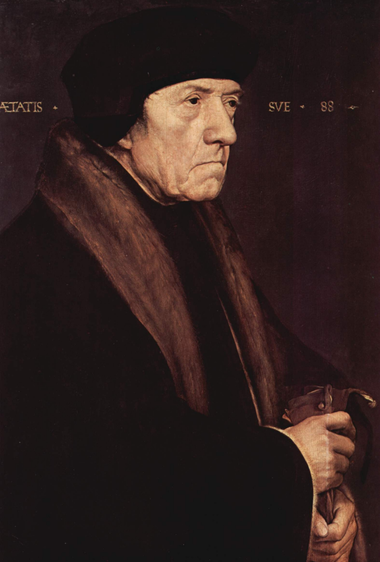 Hans Holbein the Younger. Portrait of Dr. John Chambers, Medical Officer of the English King Henry VIII