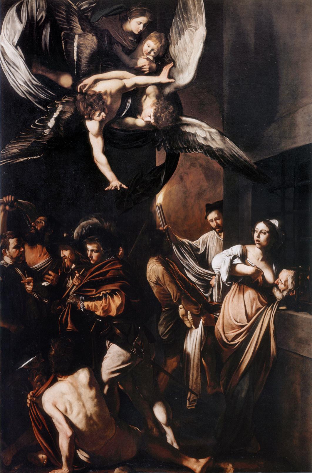 Michelangelo Merisi de Caravaggio. The Seven Acts of Mercy