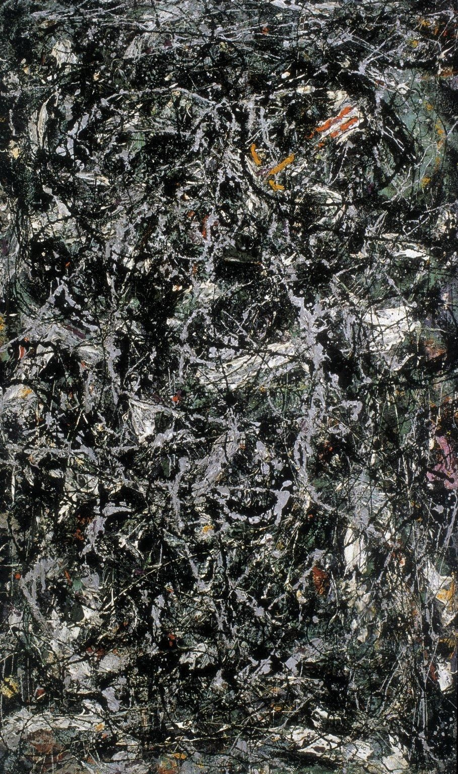 Jackson Pollock. Full fathom Five
