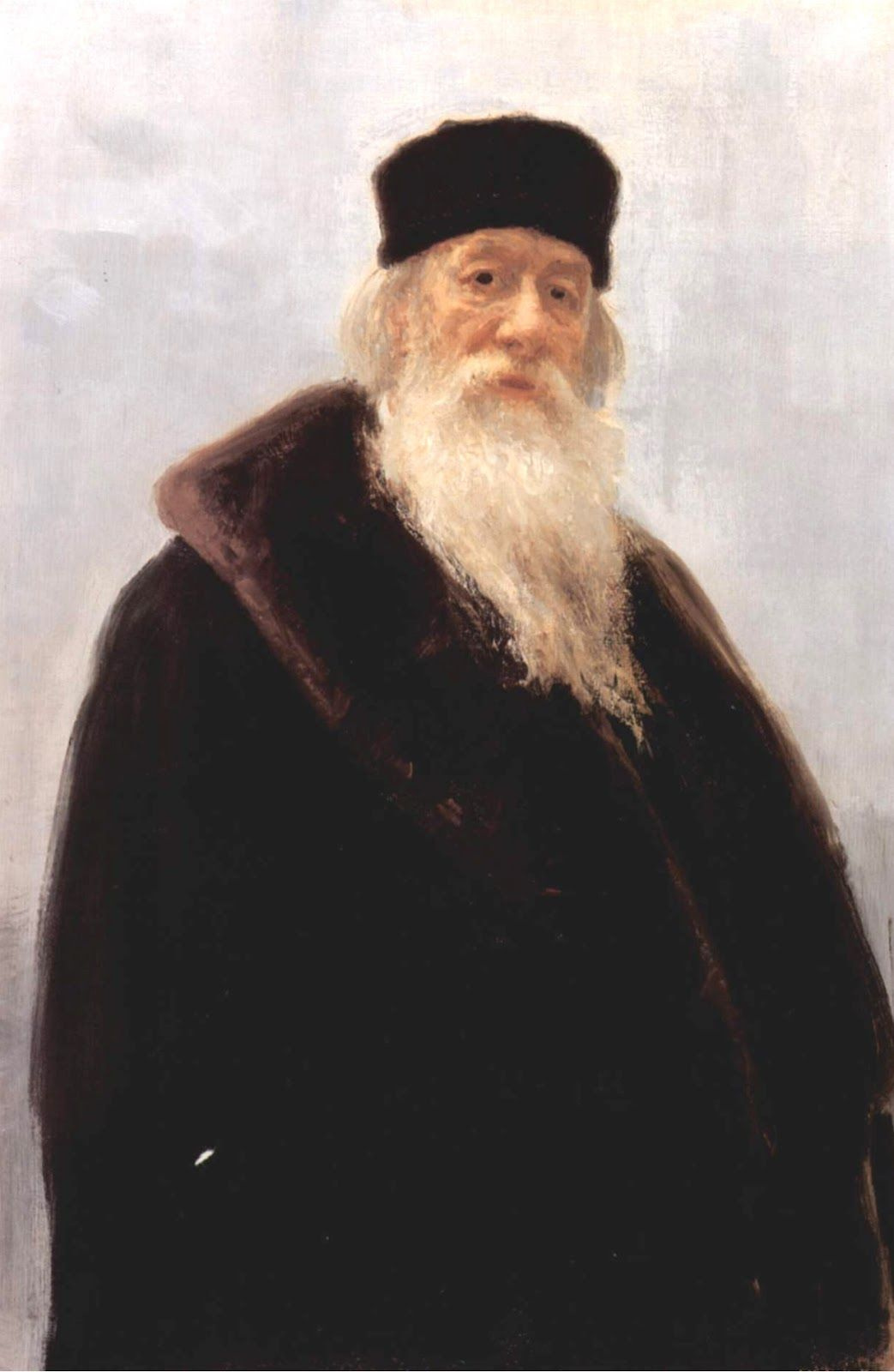 Ilya Efimovich Repin. Portrait of Vladimir Vasilievich Stasov, art and music critic, historian of art