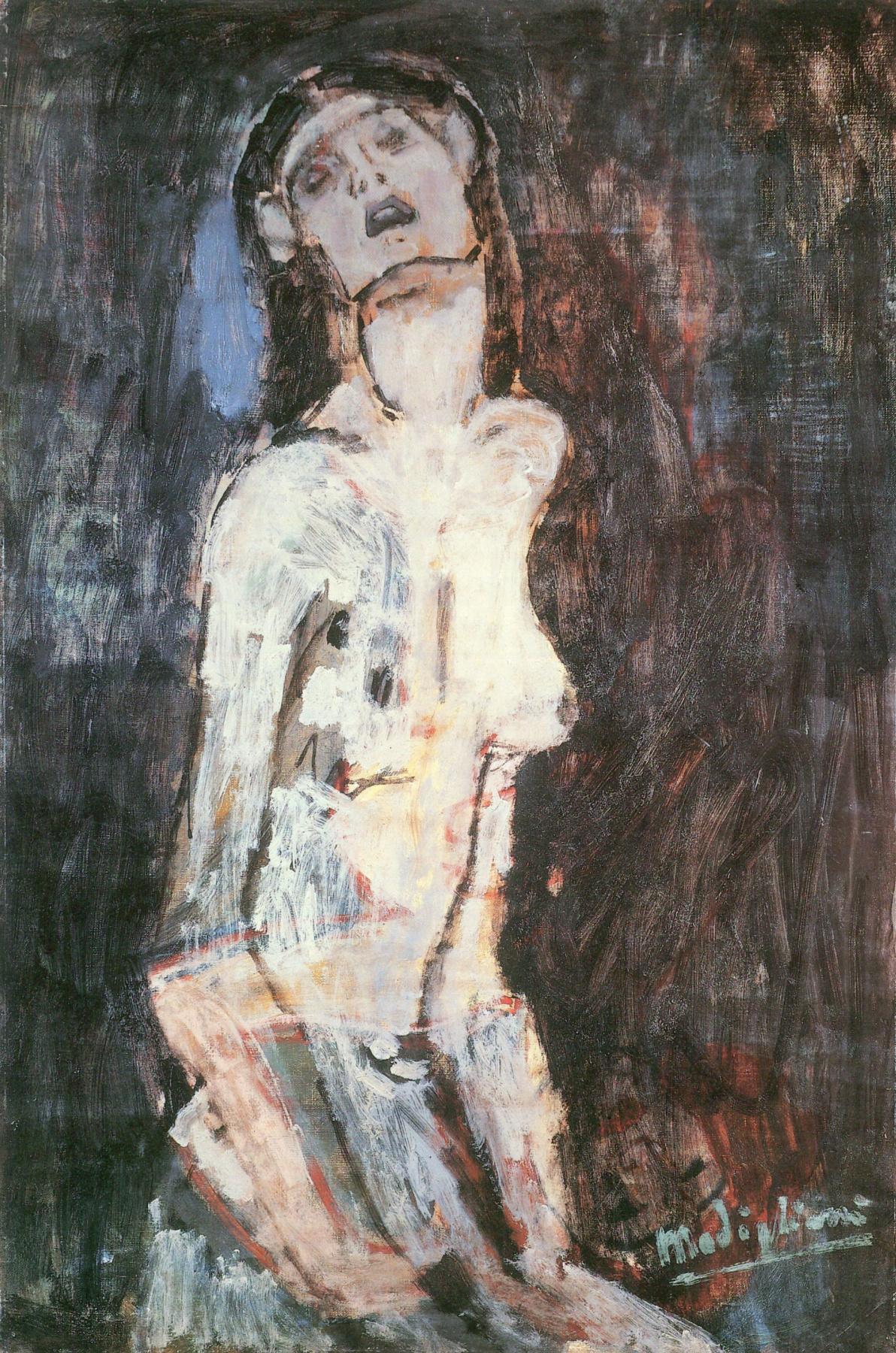 Amedeo Modigliani. Nude