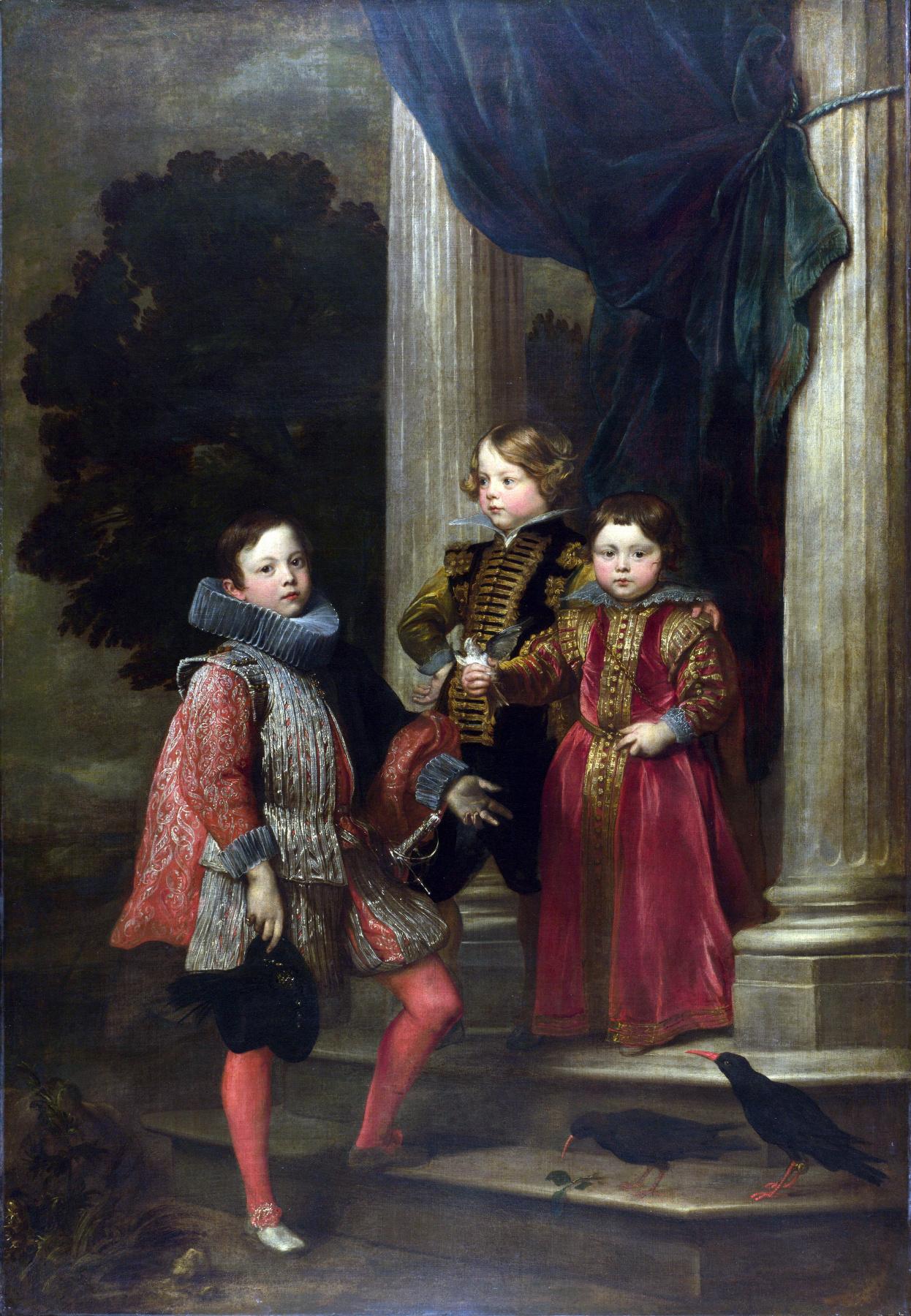 Anthony van Dyck. Children Balbi