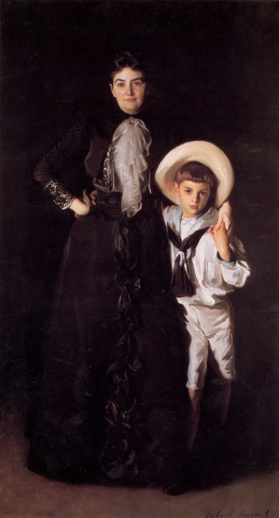 Джон Сингер Сарджент. Миссис Эдвард Дэвис и ее сын Ливингстон
