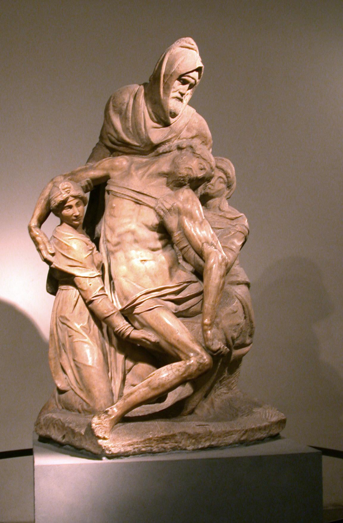 Микеланджело Буонарроти. Флорентийская Пьета