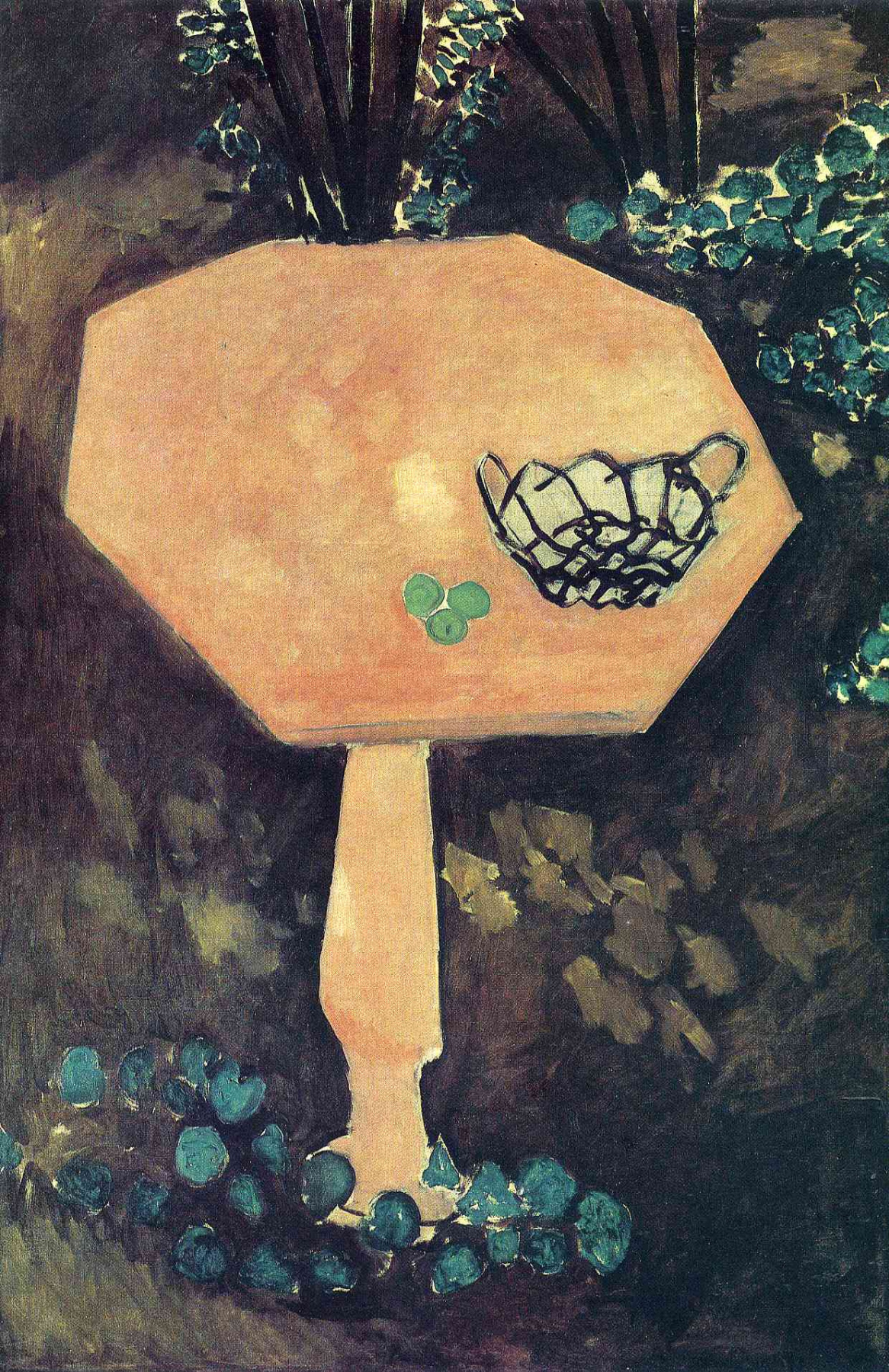 Henri Matisse. Table with basket
