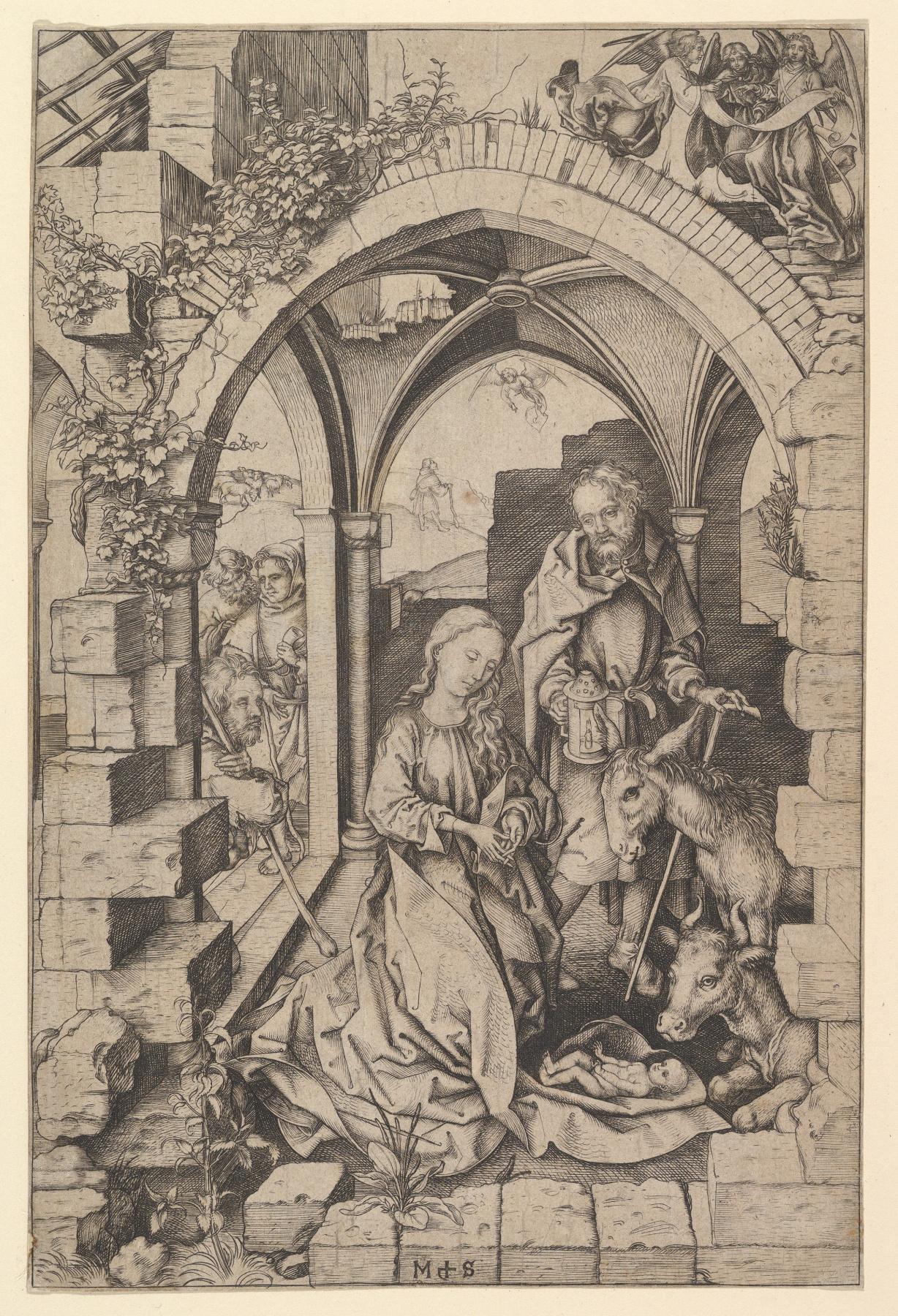 Martin Schongauer. Christmas