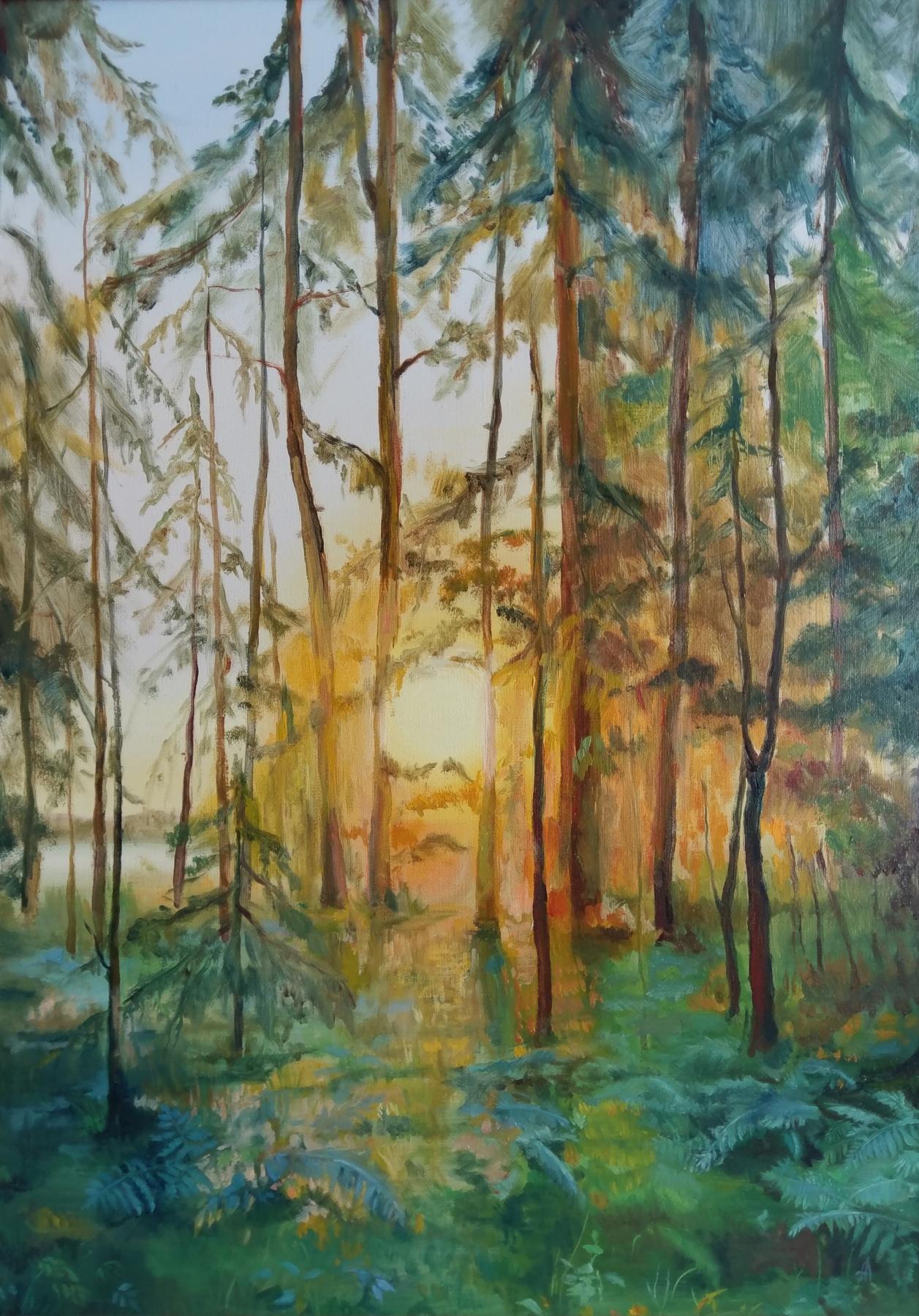 Anna Logvinova. Sunset