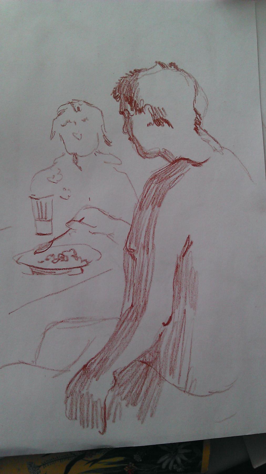 Софья Александровна Лепоринская. Breakfast
