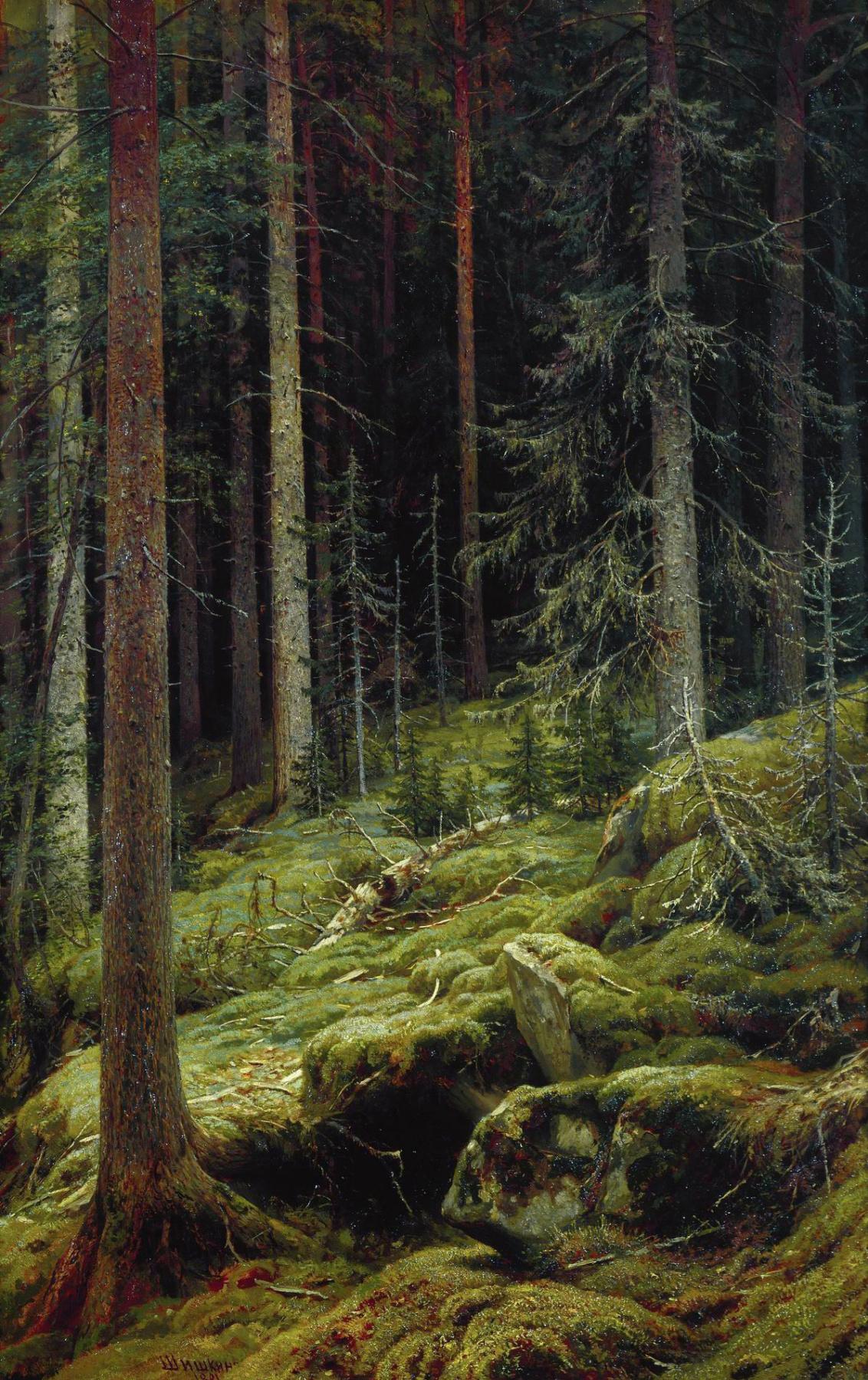 Ivan Ivanovich Shishkin. The jungle