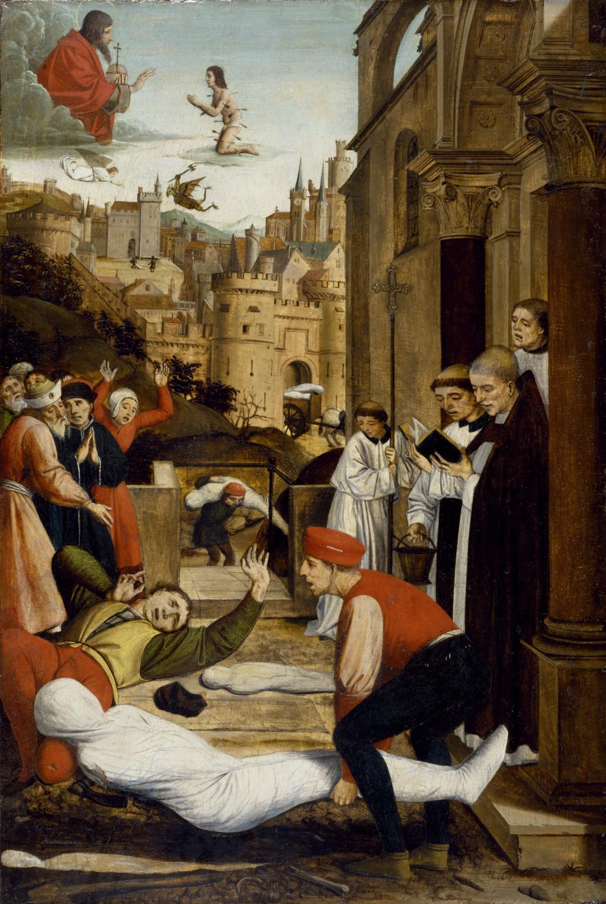 Jyussé Lifehorix. The intercession of St. Sebastian