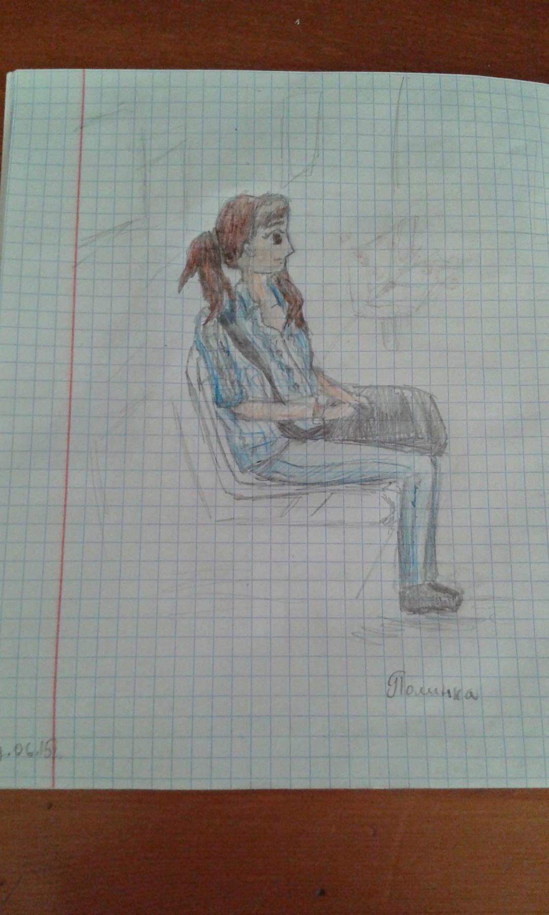 Zina Vladimirovna Parisva. Sketch
