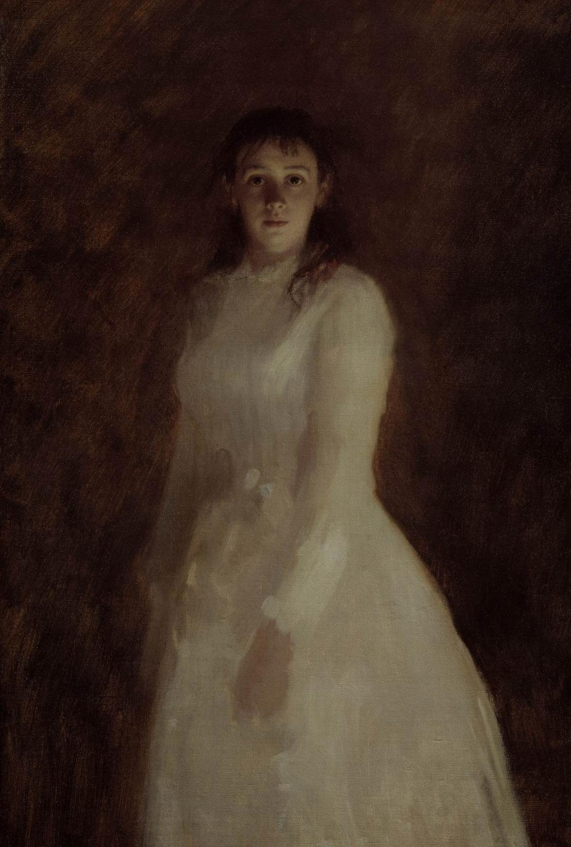 Ivan Nikolayevich Kramskoy. Female portrait