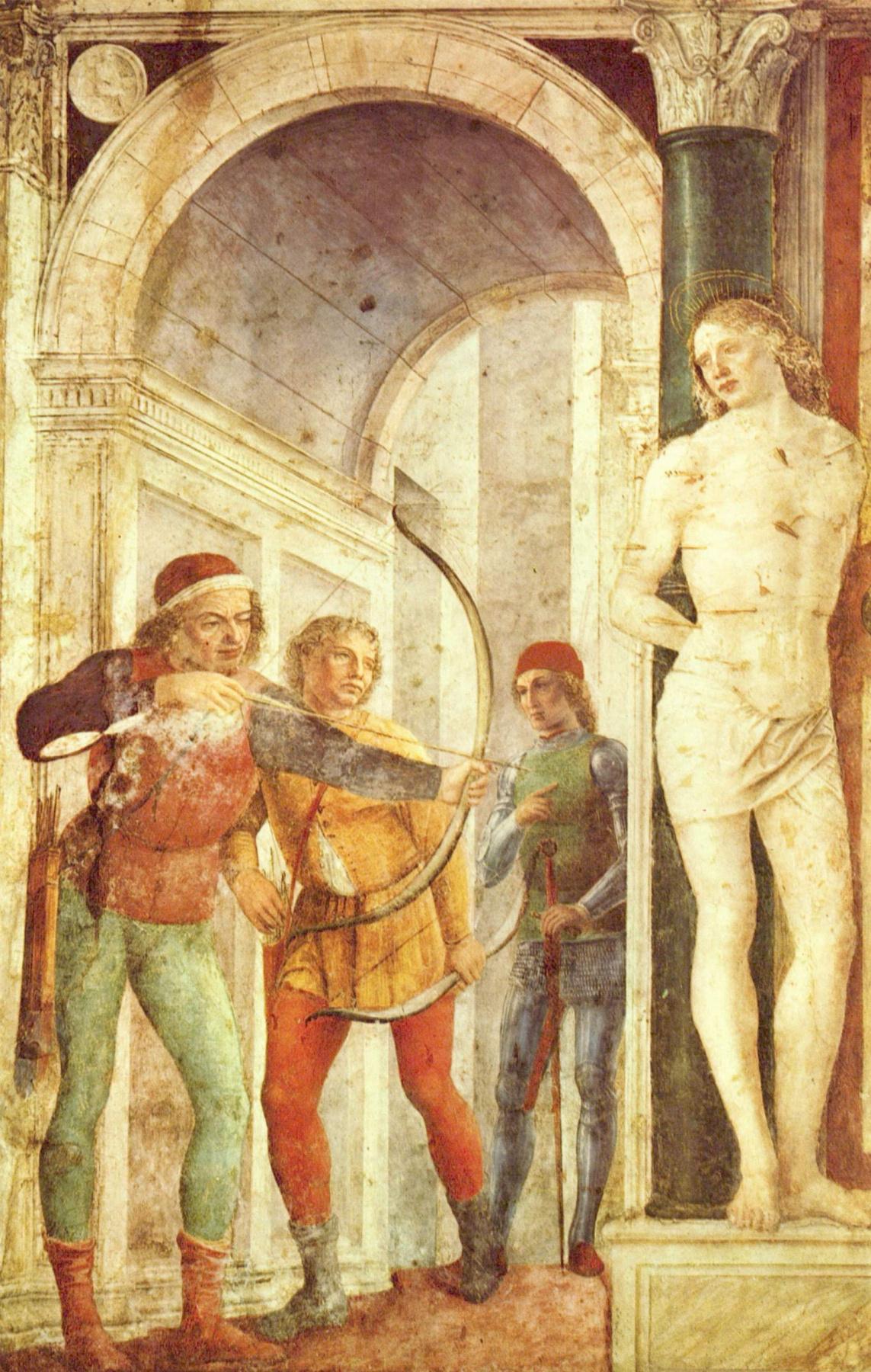 Vincenzo Foppa. The martyrdom of St. Sebastian
