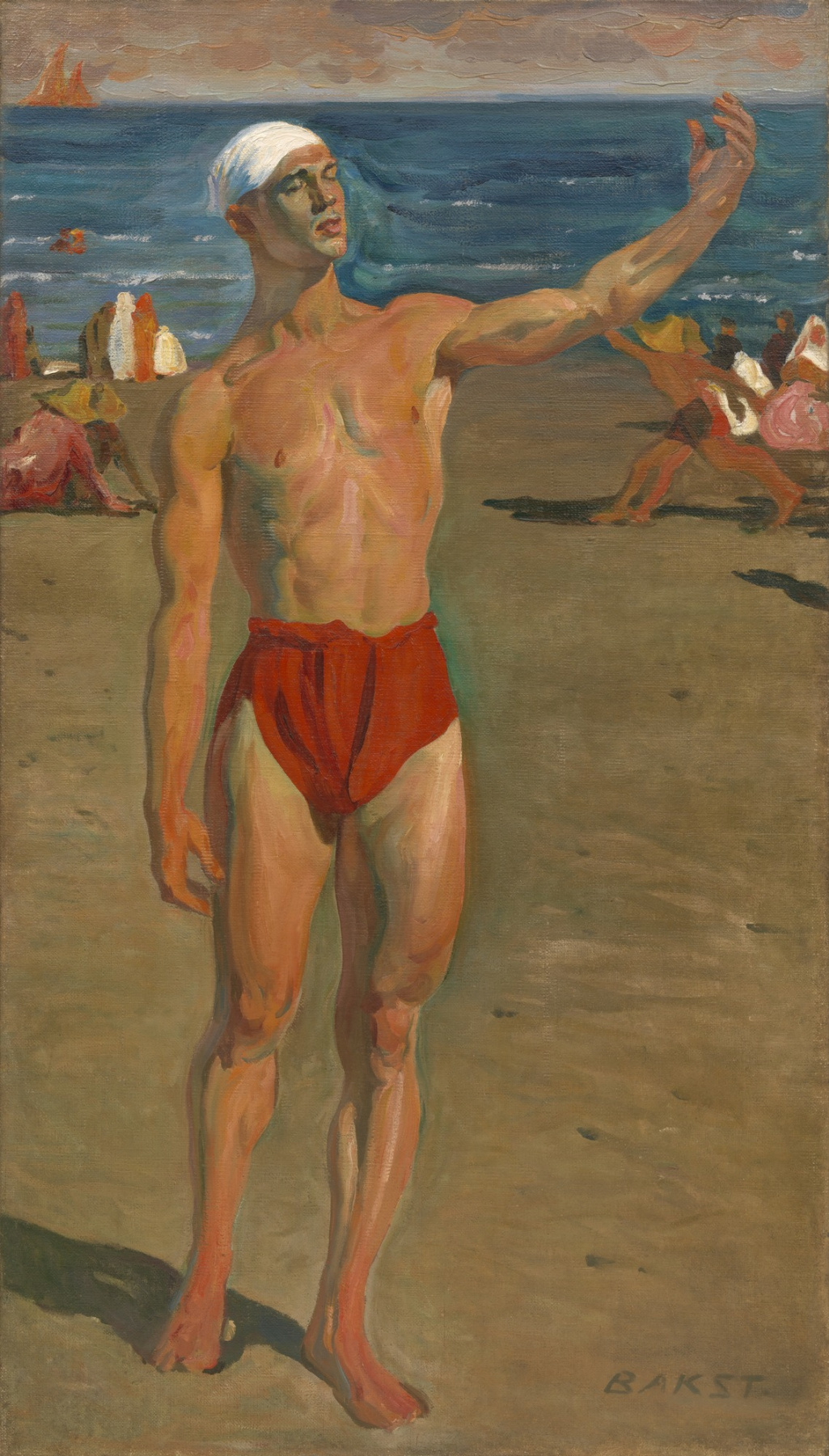 Lev Samoilovich Bakst (Leon Bakst). Vaslav Nijinsky