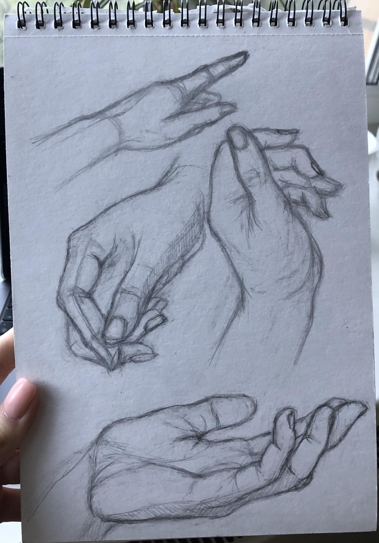Anna Shuilova. Hands