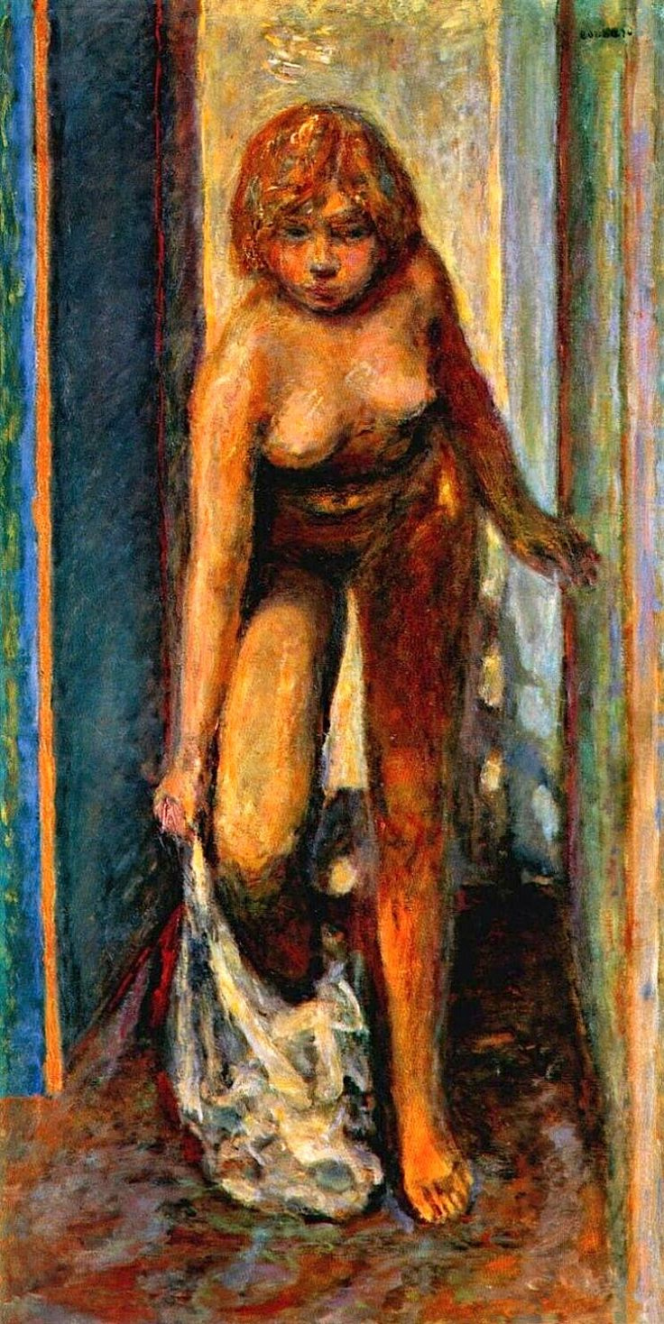 Pierre Bonnard. Woman undresses