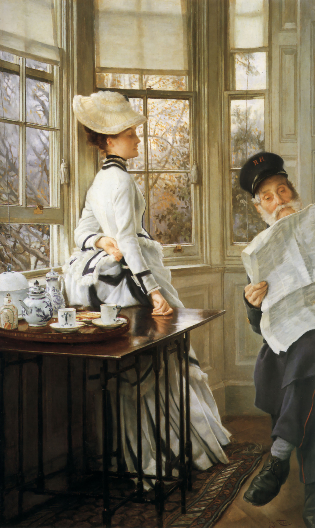 James Tissot. Read news