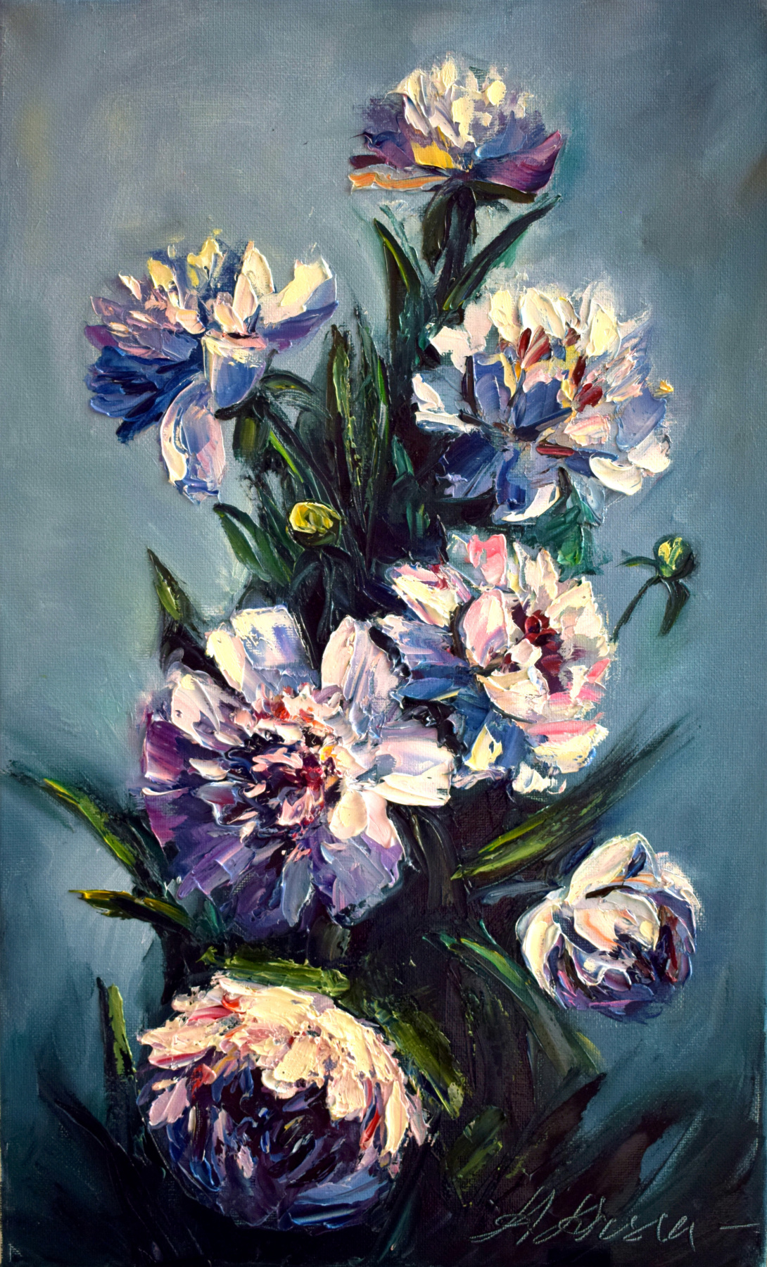 Anastasia Arsenova. Bouquet of peonies