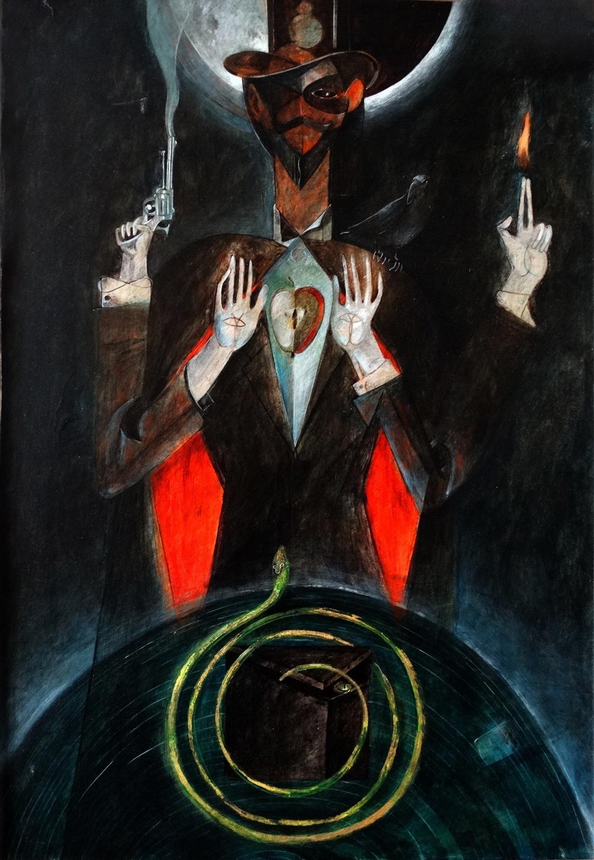 Alexander (Alex Merali) Kolominov. The illusionist