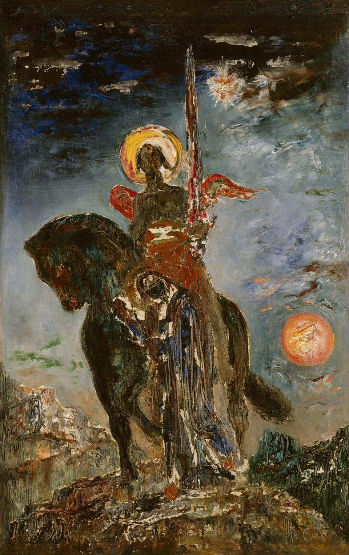 Gustave Moreau. Angel of Death
