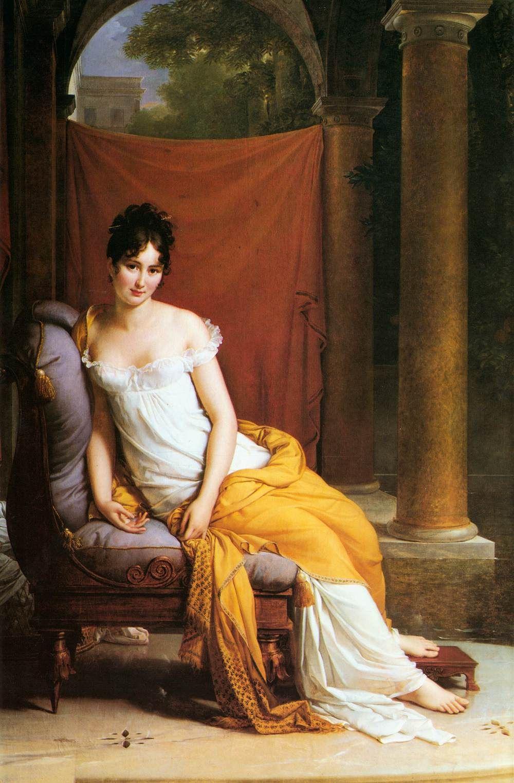 Francois Pascal Simon Gerard. Portrait of Madame Récamier