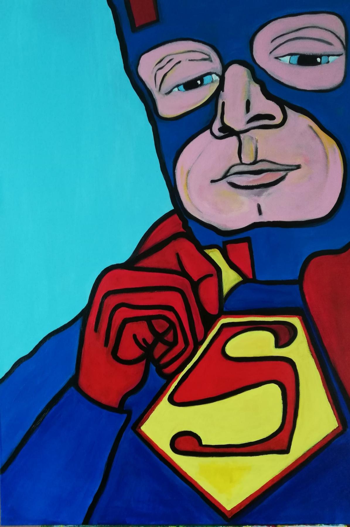 Olga Grig. Superman