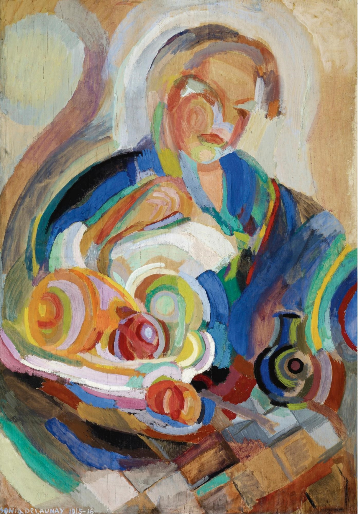 Sonia Delaunay. Portugese Woman with Fruit