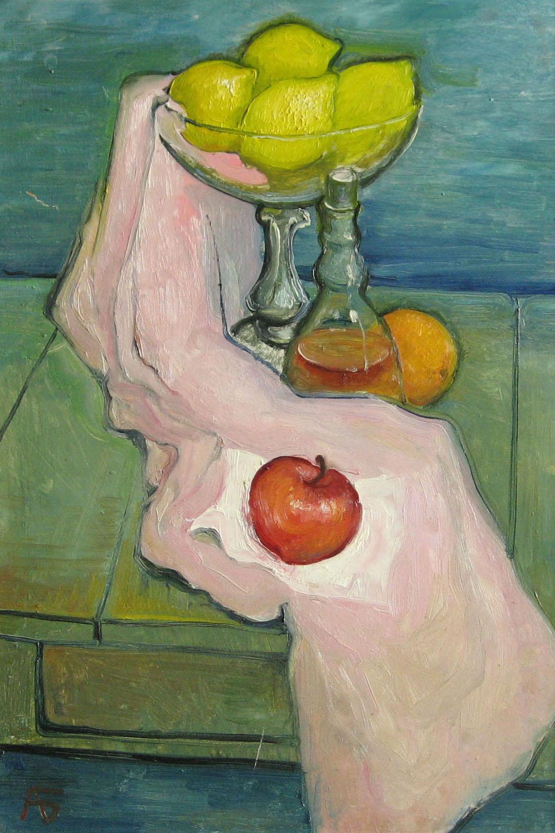 Александр Беляков. Яблоко, лимоны и апельсин