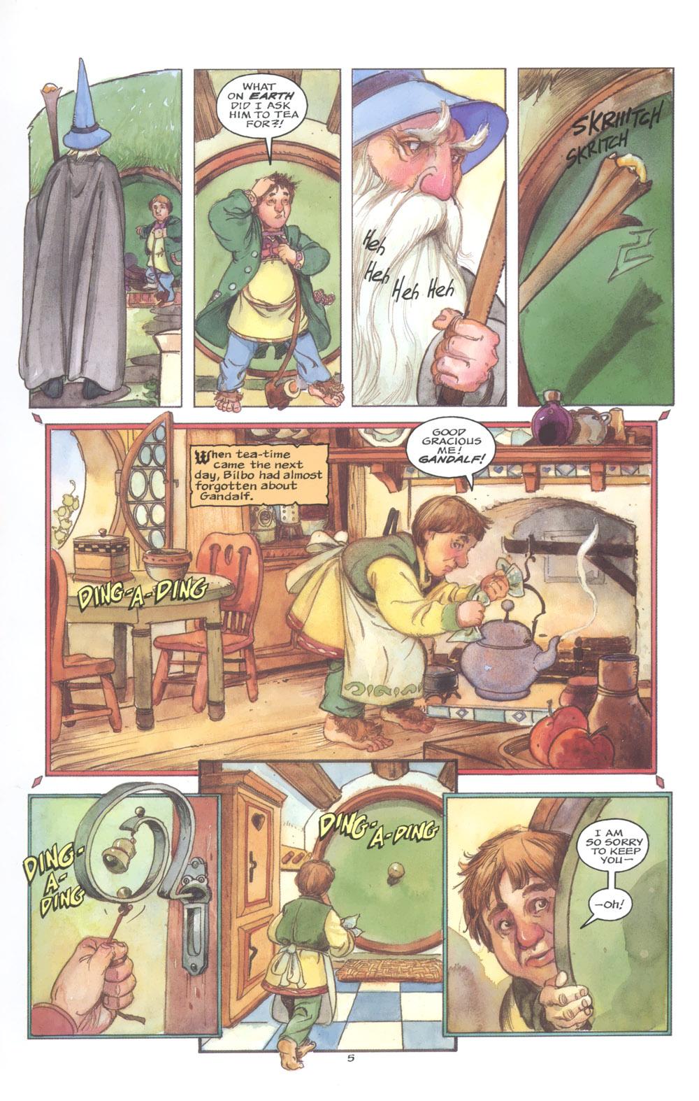 David Monogram. The hobbit 005